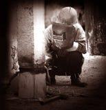 работник Стоковая Фотография RF