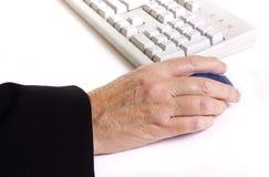 работник arthritic стоковые фото