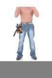 работник macho конструкции Стоковое фото RF