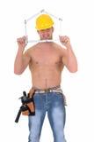 работник macho конструкции Стоковая Фотография