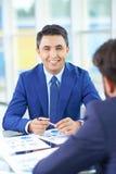 работодатель успешный Стоковые Фотографии RF