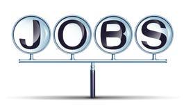 Работы и занятость Стоковое Изображение