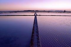 работы Сицилии соли marsala Стоковая Фотография RF