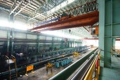 Работы утюга Steelmaking стоковые изображения rf