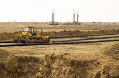 Рабочая платформа к пустыням Стоковое Фото