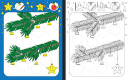 Рабочее лист Preschool Стоковая Фотография