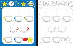 Рабочее лист Preschool Стоковые Фотографии RF