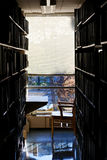 рабочее место архива коллежа Стоковая Фотография