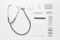 Рабочее место врача Стоковое Изображение