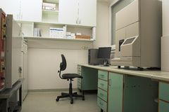 рабочее место лаборатории стоковые изображения