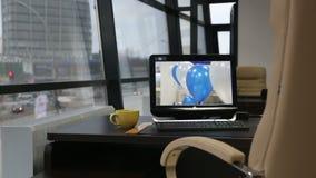 рабочее место офиса изображения иллюстраций 3d акции видеоматериалы