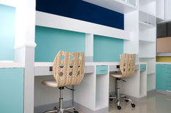 рабочее место стула Стоковое Изображение RF