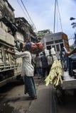 Рабочий класс в Kolkata, Индии Стоковая Фотография RF