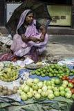 Рабочий класс в Kolkata, Индии Стоковые Фотографии RF