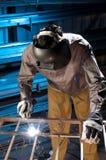 рабочий сталелитейной промышленности Стоковая Фотография RF