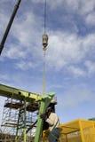 рабочий сталелитейной промышленности Стоковое фото RF