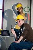 рабочий-строители стоковое фото