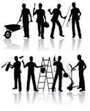 рабочий-строители Стоковое фото RF