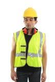 рабочий-строитель плотника строителя Стоковое Фото