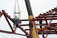 рабочий-строитель Стоковые Изображения RF