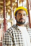 рабочий-строитель Стоковые Фото