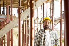 рабочий-строитель стоковое фото