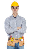 рабочий-строитель Стоковая Фотография RF