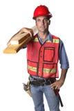 рабочий-строитель стоковые изображения