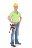 рабочий-строитель Стоковое фото RF