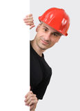 рабочий-строитель Стоковые Фотографии RF