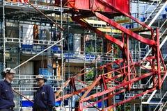 Рабочий-строители и строительная промышленность стоковые изображения rf