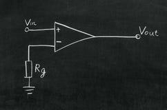 Рабочий усилитель Стоковое фото RF