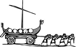 Рабства Викинга Стоковое Фото