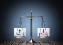 Равенство полов стоковые изображения rf