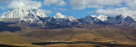 равнина горы Стоковое Фото