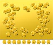 равнина золота 2 Стоковое фото RF
