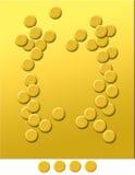 равнина золота 5 Стоковые Фото