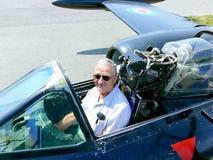 равнина самолет-истребителя Стоковые Фотографии RF