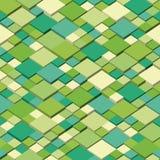 Равновеликая графическая картина Абстрактный безшовный и repeatable вектор предпосылка красит желтый цвет свежей зеленой весны пр Стоковые Изображения