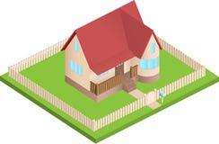 Равновеликая дом иллюстрация вектора