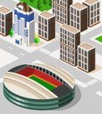 равновеликий стадион Стоковое Фото