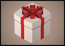 Равновеликая подарочная коробка Стоковое Изображение