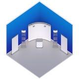 Равновеликая стойка будочки выставки Стоковые Изображения RF