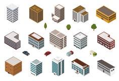 Равновеликие здания иллюстрация штока