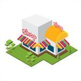 Равновеликий большой магазин Стоковые Фото