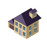 равновеликий дом 3D бесплатная иллюстрация