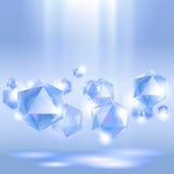 драгоценностей группы диаманта предпосылки разрешение extralarge большое Стоковые Фото