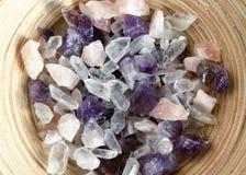 драгоценные камни moonstone минирования Стоковые Изображения RF