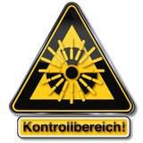 Радиация опасности атомная и ядерная иллюстрация штока