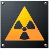 радиоактивный символ Стоковое фото RF